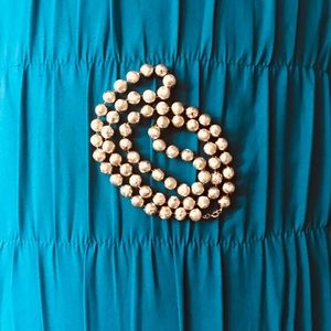 Jewelry - ‼️3 FOR $15‼️Gold beaded necklace, costume jewelry